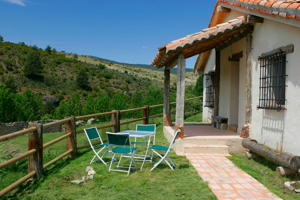 Casa rural con magníficas vistas