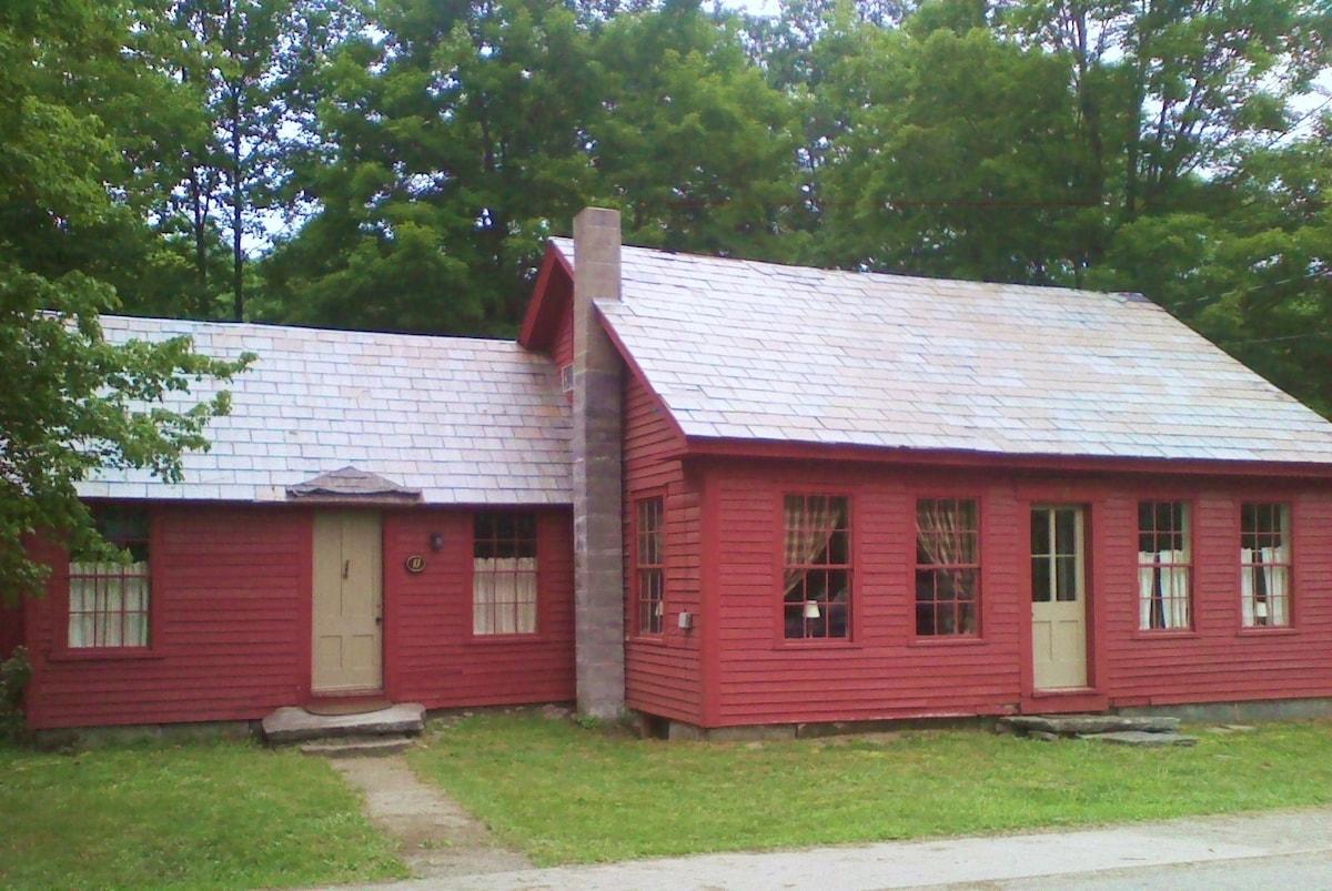 1850's VT Farmhouse on the River