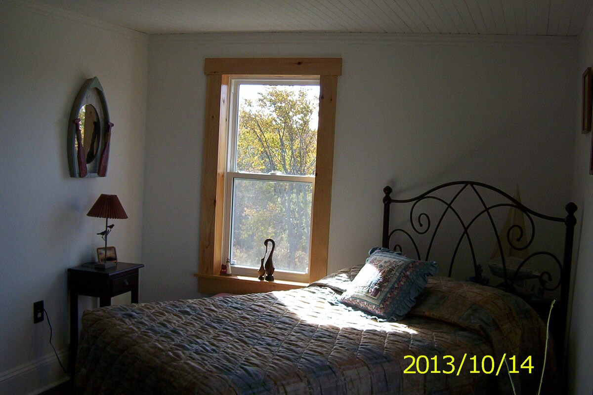 Belle's Room - with a lake view.