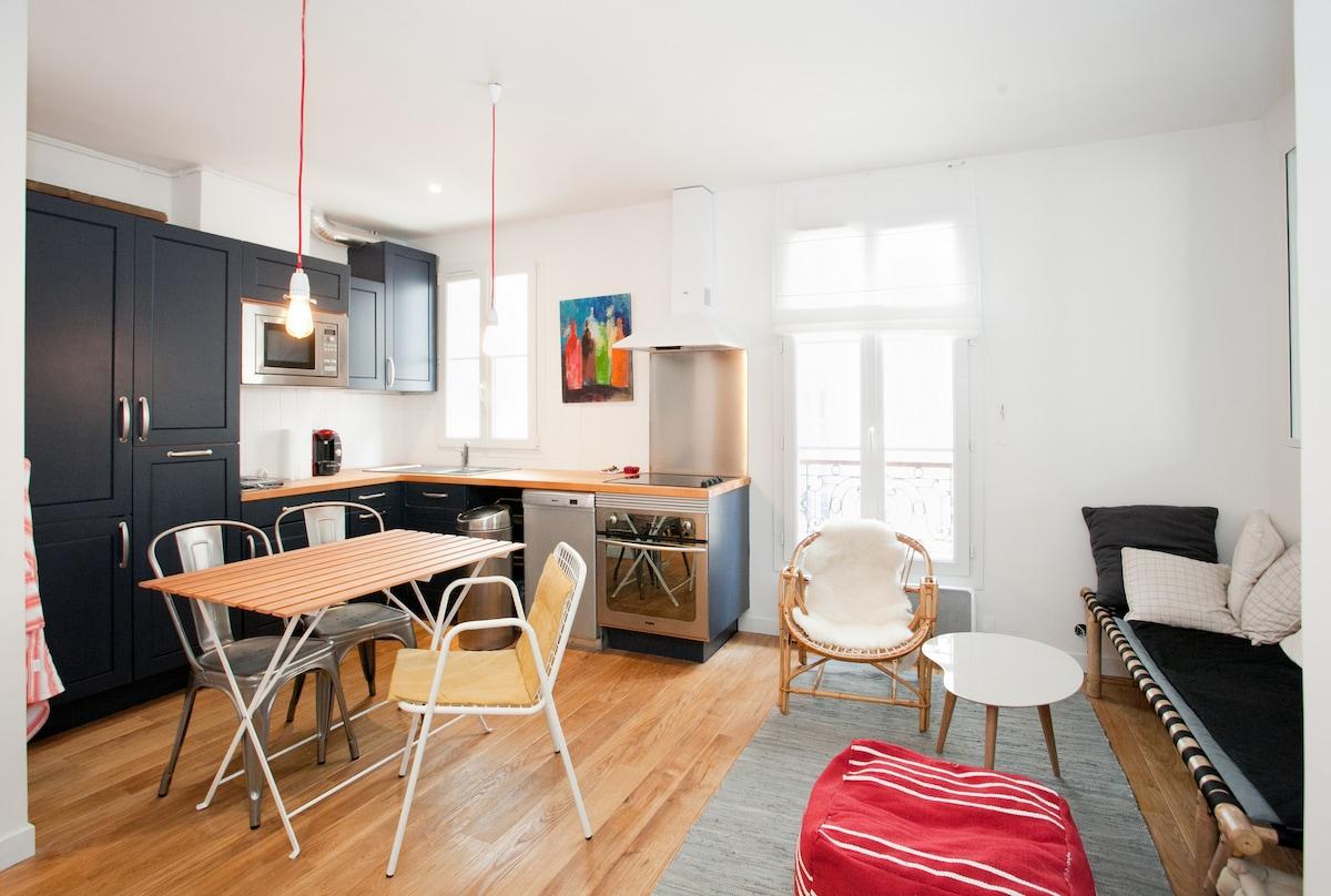 Appartement Loft - quartier Latin