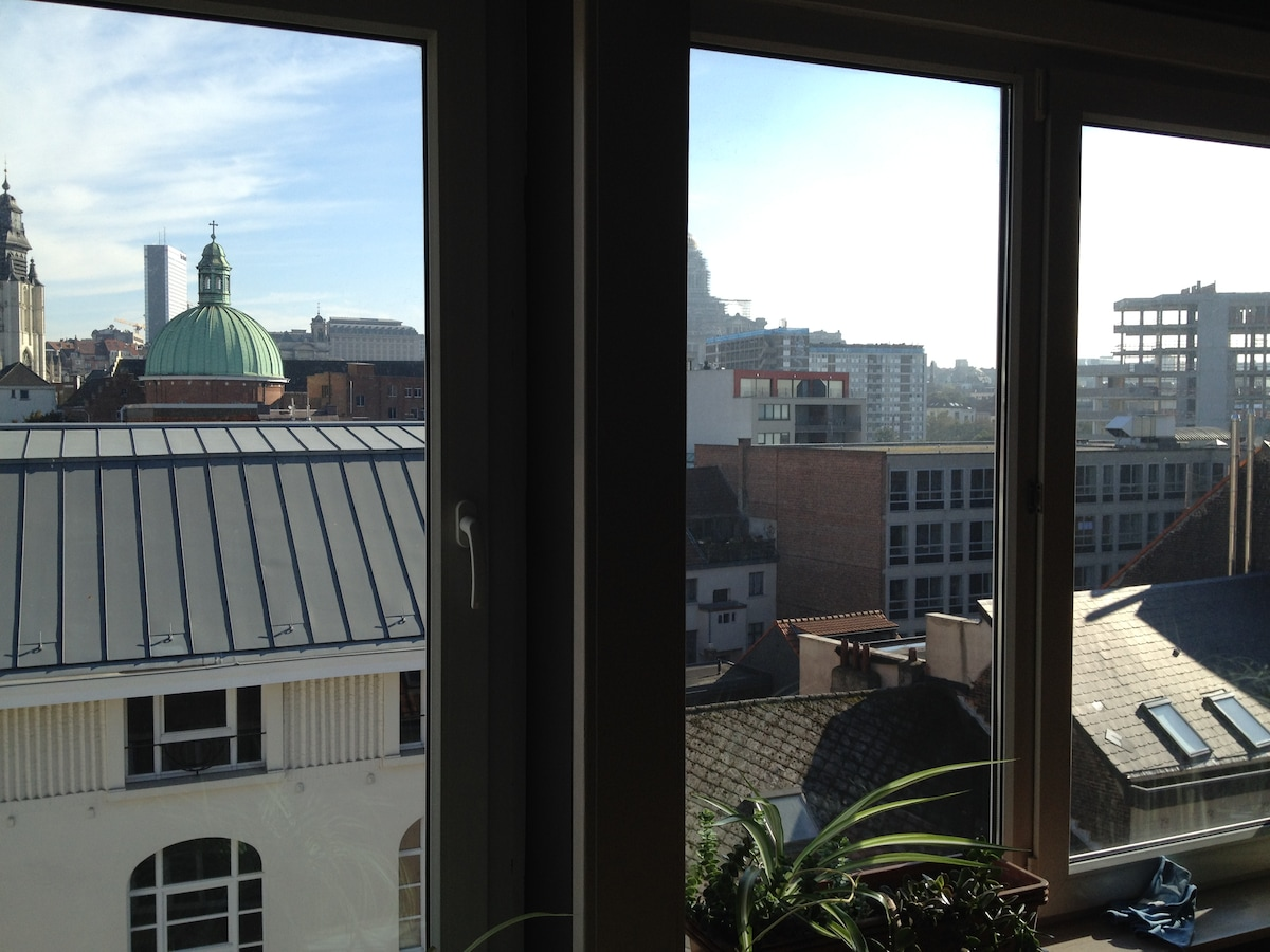 Nice room in the centre of Brussels