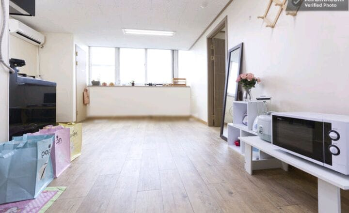 Spacious Flat  w/2BDs@SeoulStation