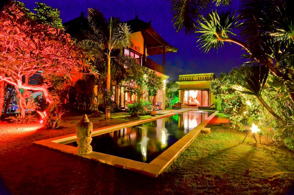 Main House Night View