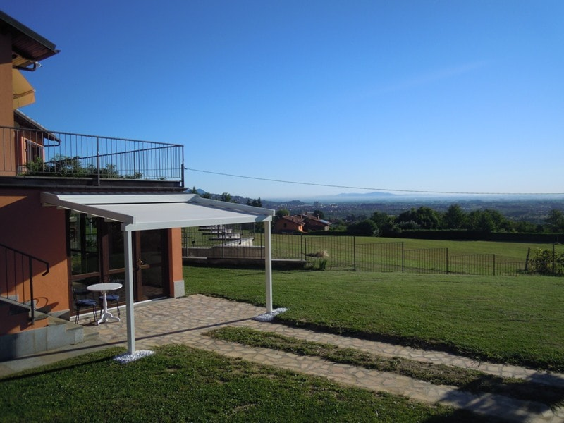 the view to Turin and the plans