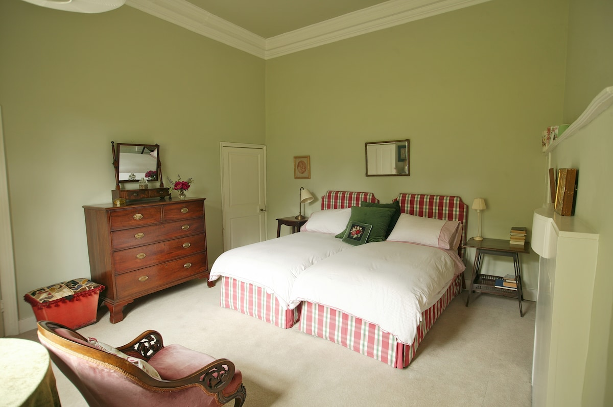 A quiet room in an old Vicarage