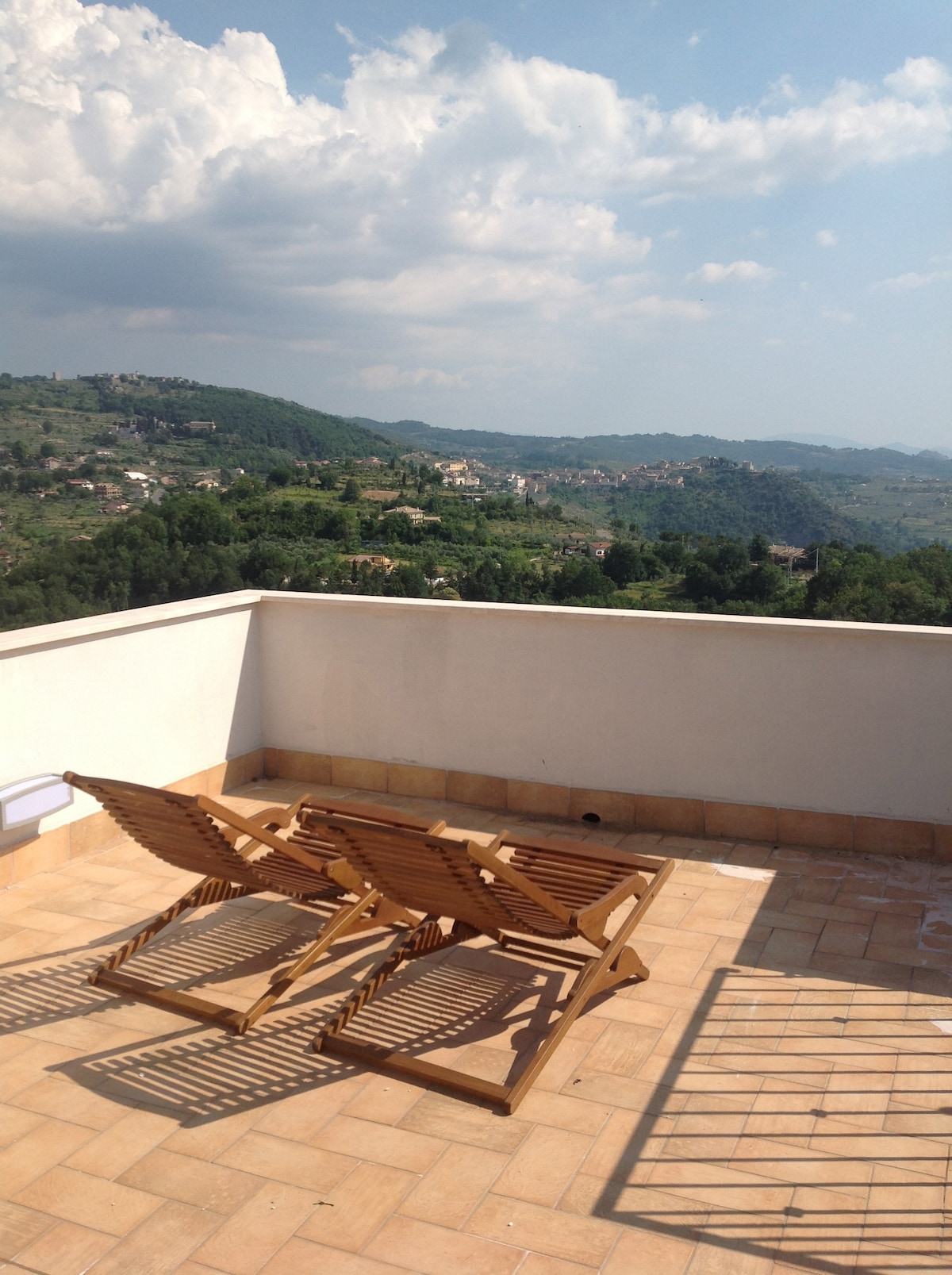 360 Panoramic view, roof terrace!