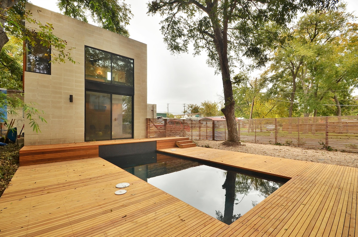 New Design Home, Pool, E. 6th