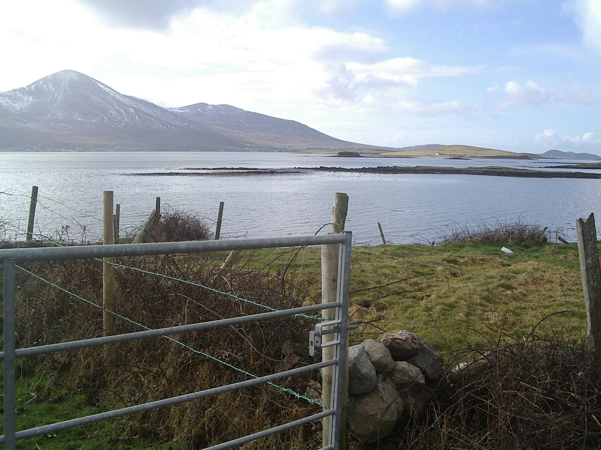 Croagh Patrick: Just part of the view from the garden..