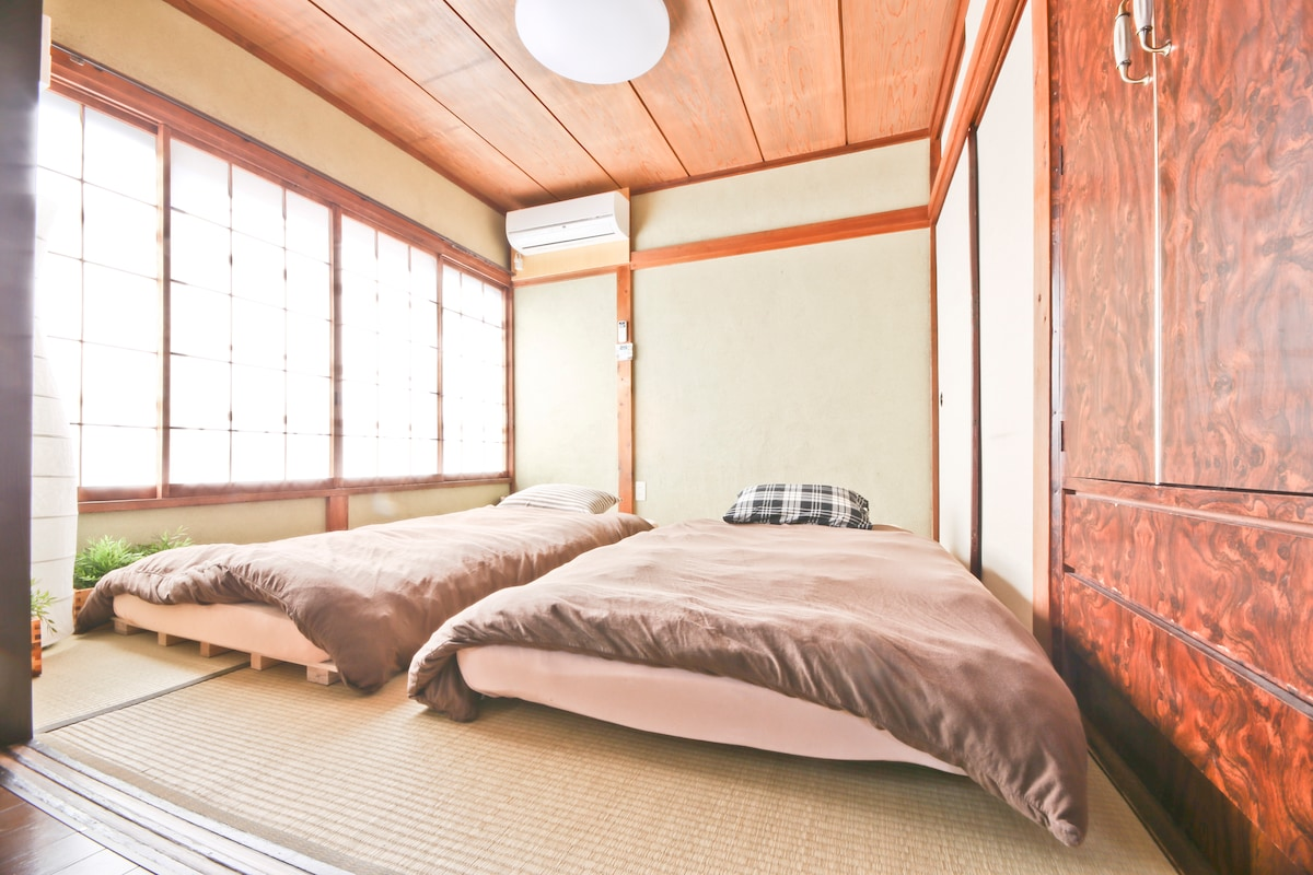 Bright Sunny Japanese Bed Room