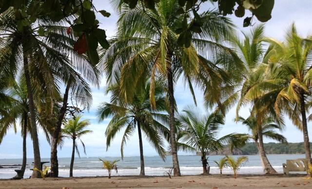 Morning at Playa Carrillo.