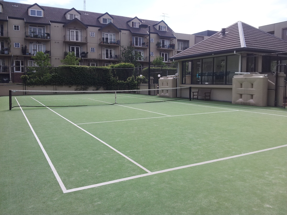 Tennis if you are feeling active