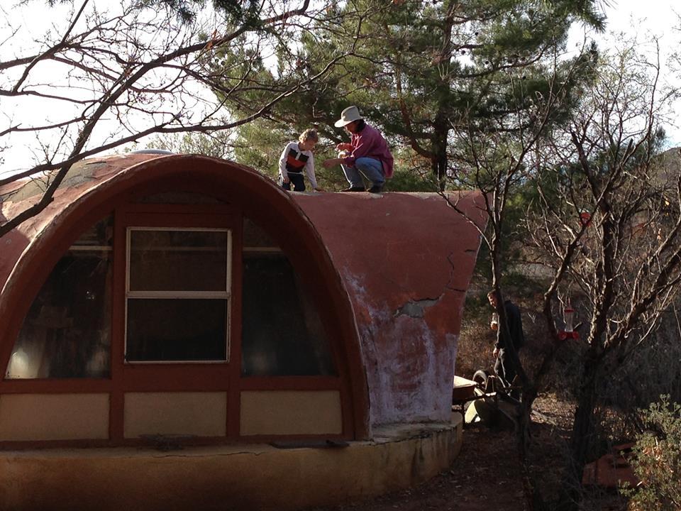 Sedona  RusticGypsy Chic Dome House