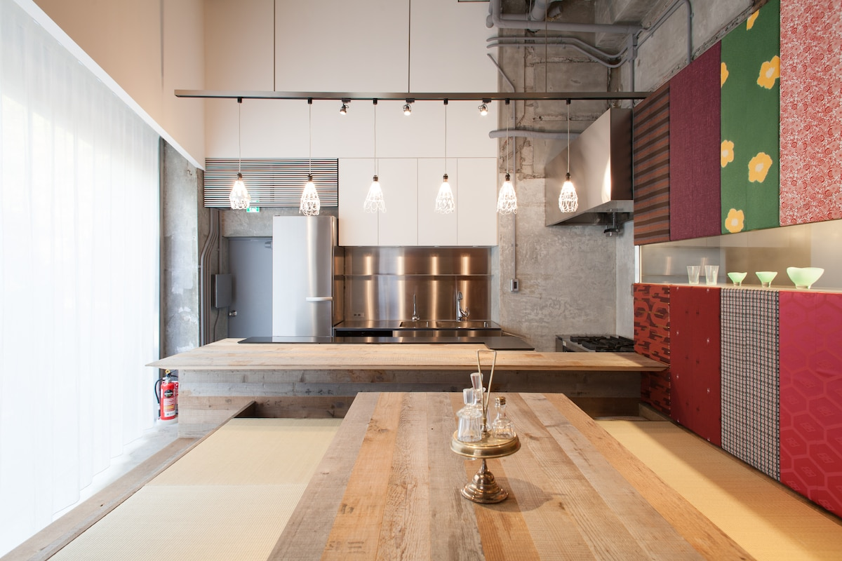 Spacious Apartment in Ginza