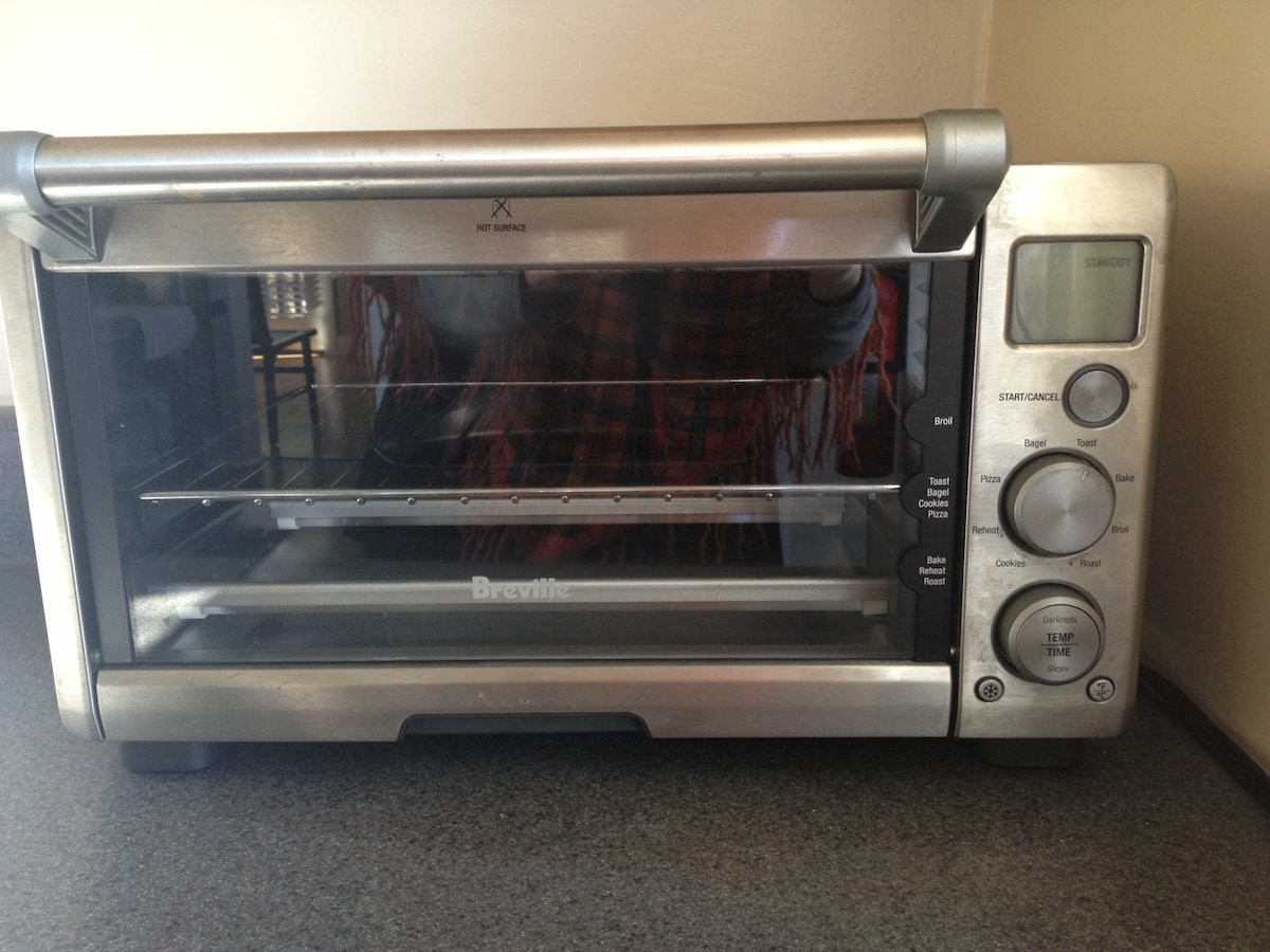 Breville Smart Oven awaits your culinary touch!