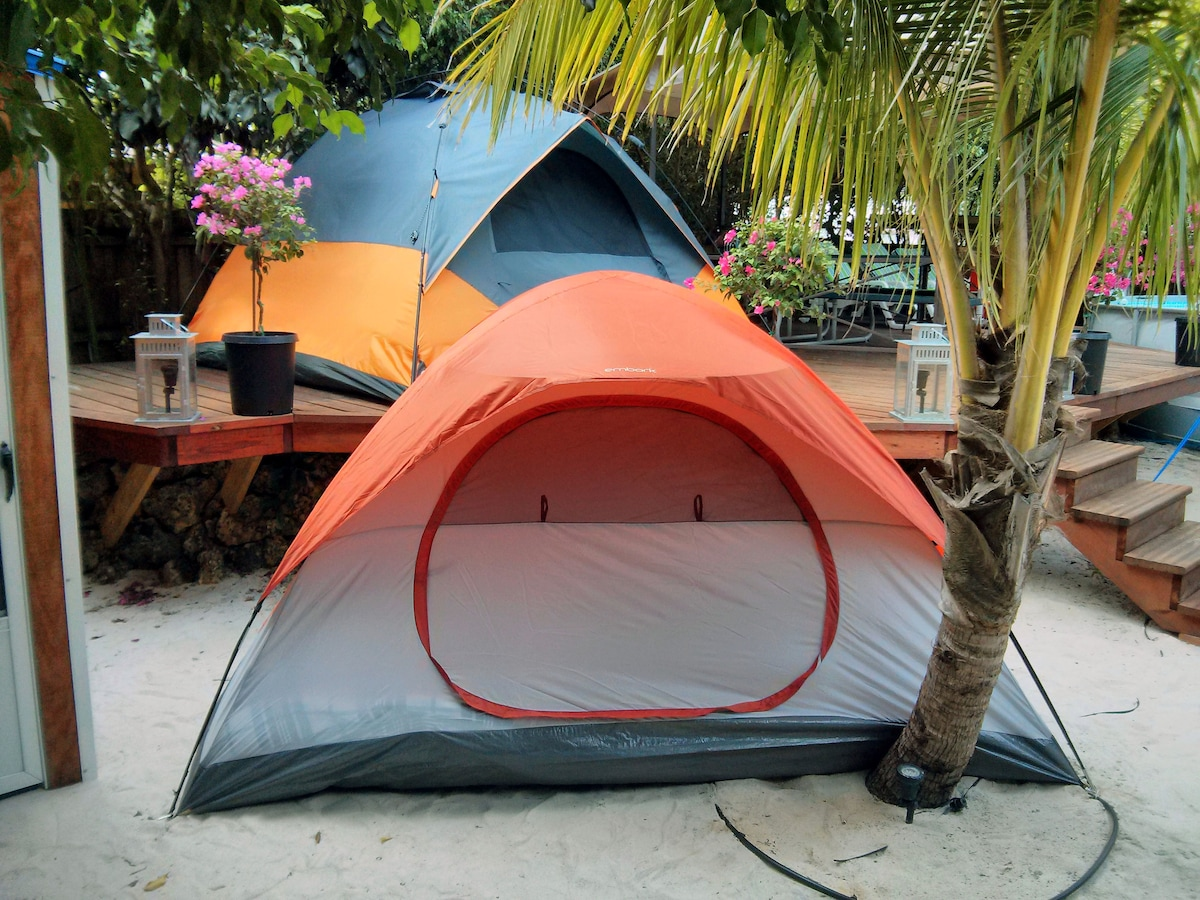 Free bikes -  KING bed Luxury TENT