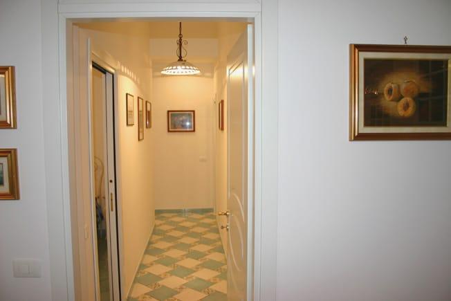 Corridor of Marina Grande Holiday Apartment in Sorrento