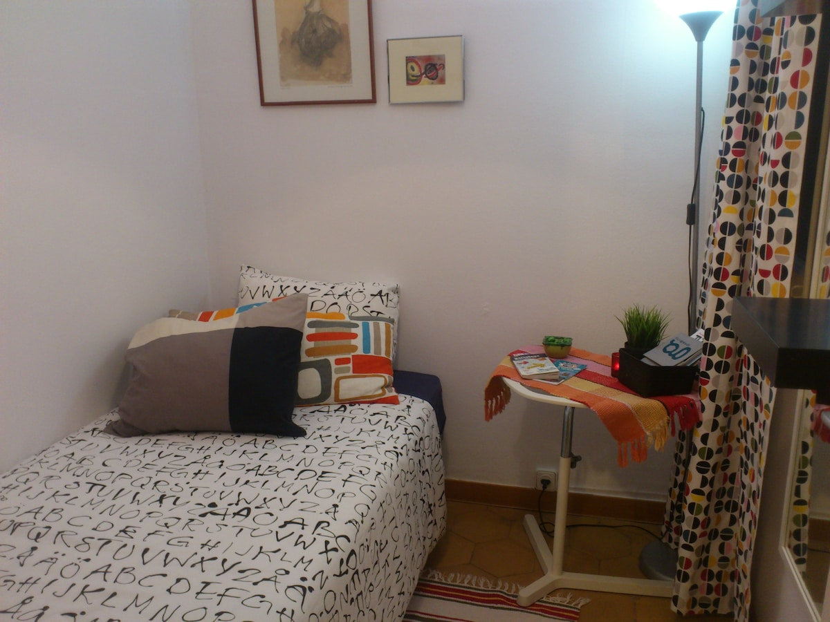 Single Room, Habitacion individual, privada.