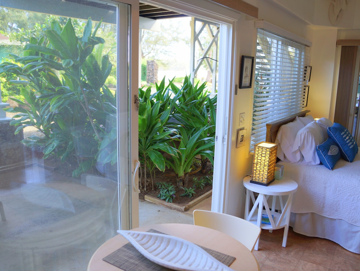 View of Ocean from your Dining Area and Private Sun Lounge  Lanai