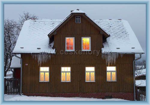 Hütte im Erzgebirge
