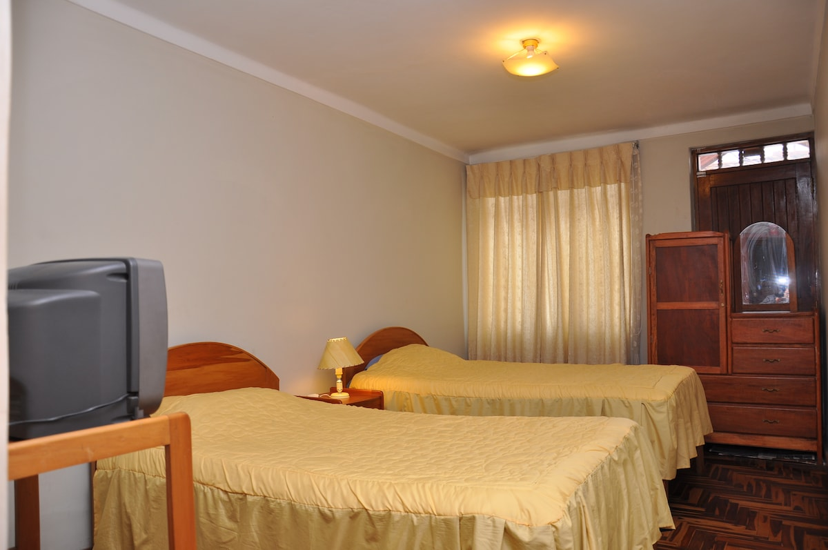 HABITACION DOBLE / DOUBLE ROOM.