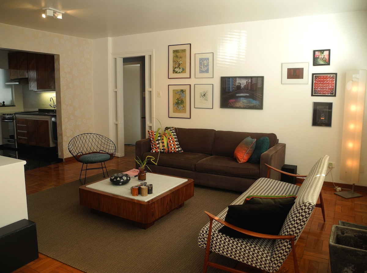 Cosy apartment near Ibirapuera Park