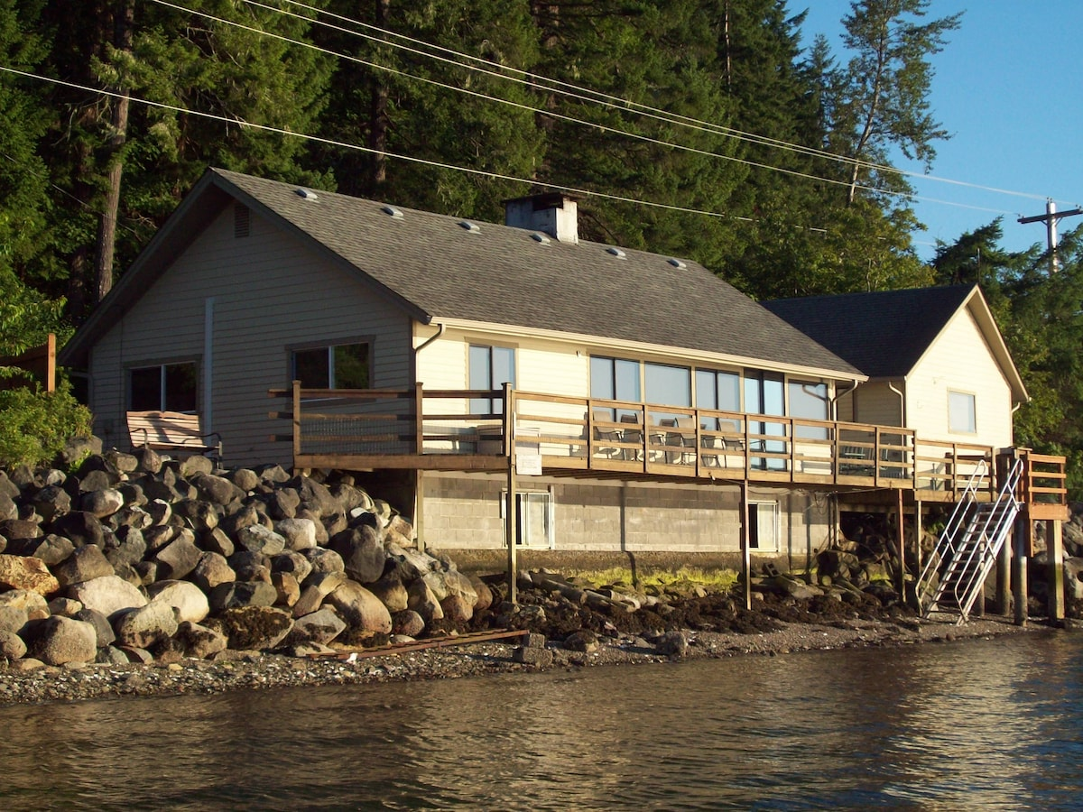 Hood Canal House - Wow Views!