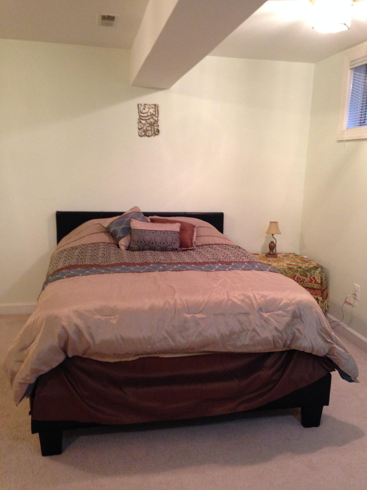 Full Basement Apt - 2 Bedrooms
