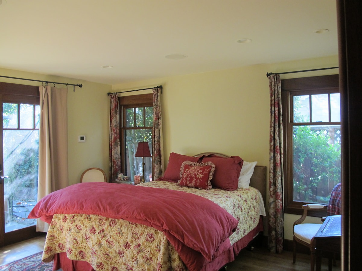 A lovely quiet and private suite