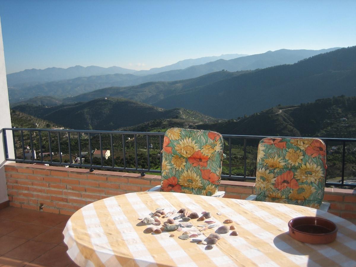Fantastic Views of Sunny Valleys