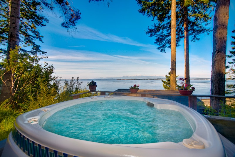 Whidbey Beachfront Luxury Compound