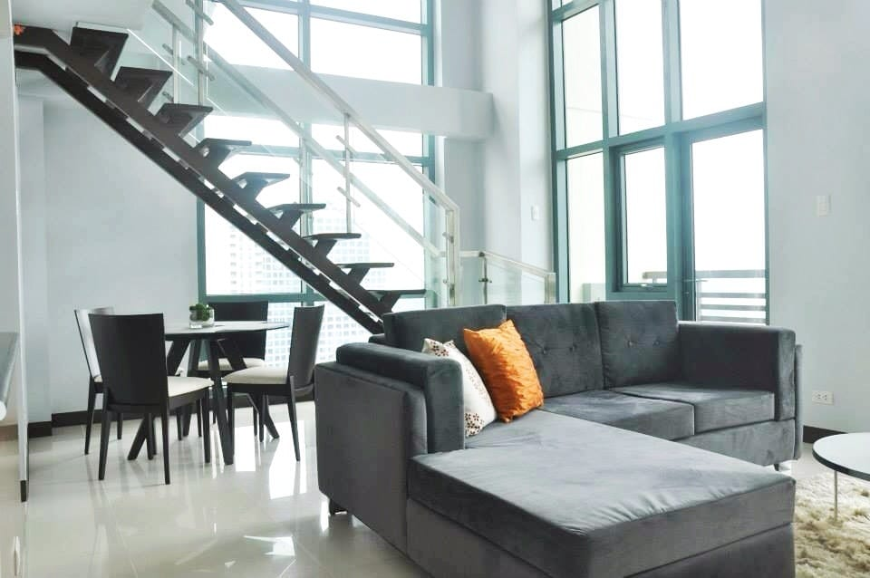 Not just one, but TWO walls worth of floor-to-ceiling windows... a special feature not found in most units!