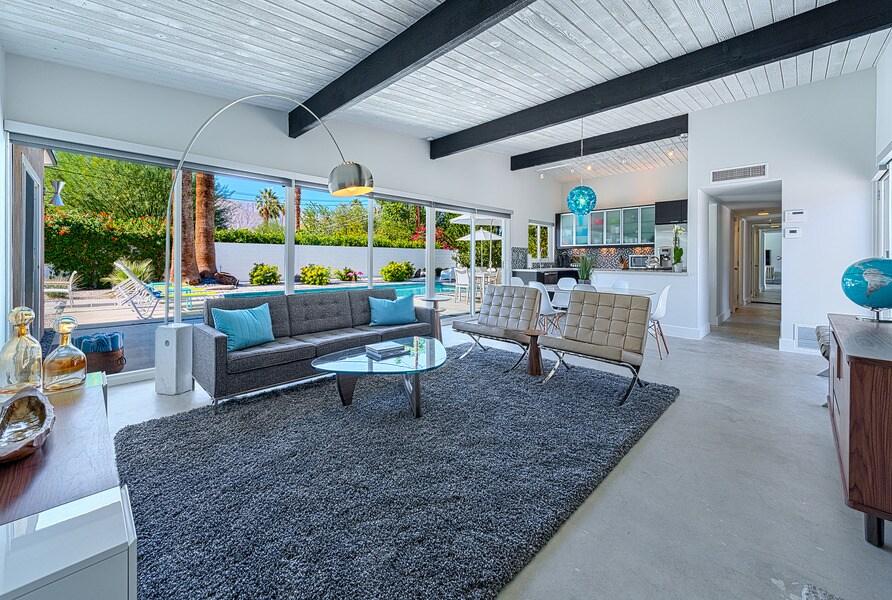 Mid-Century Modern Pool Home
