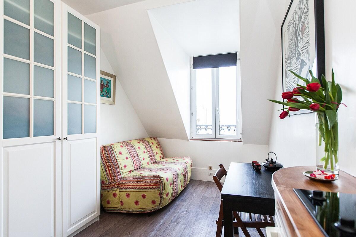 Studio à Montmartre
