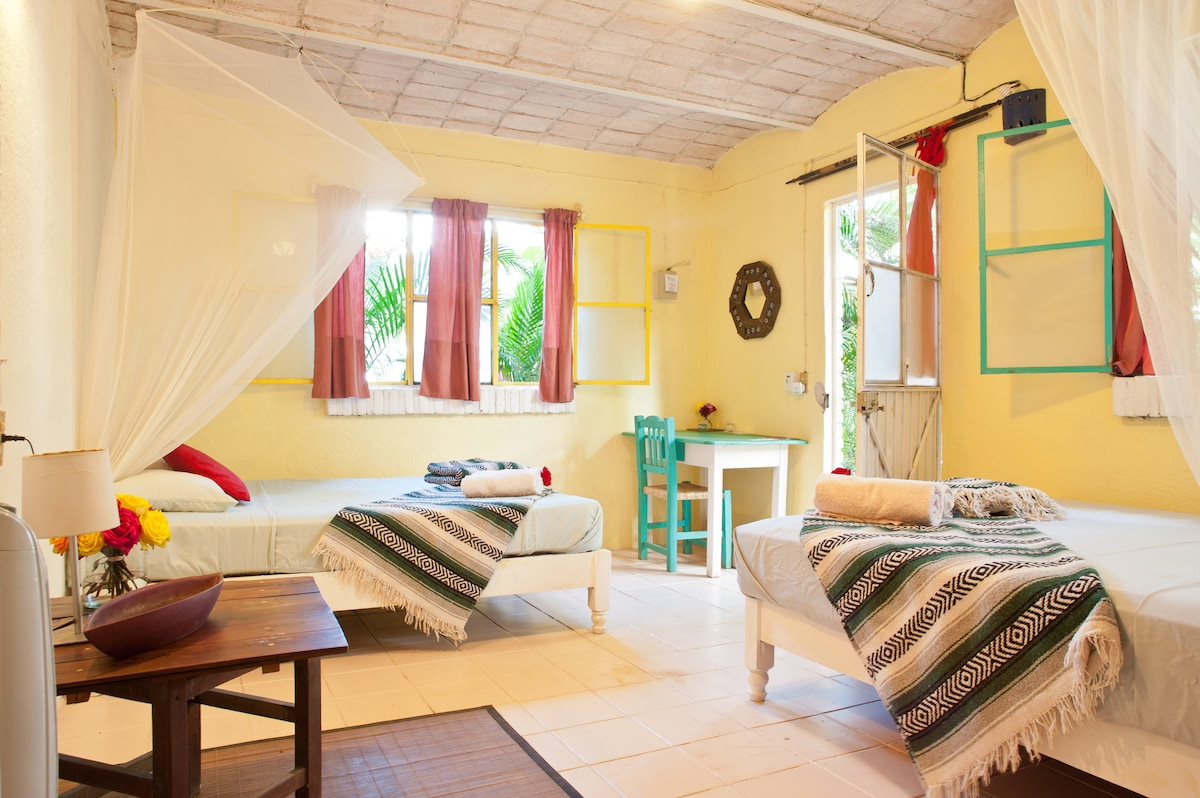Paraiso Yoga Bungalows in Sayulita2