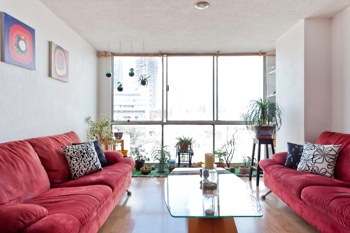 Condesa: great view and location