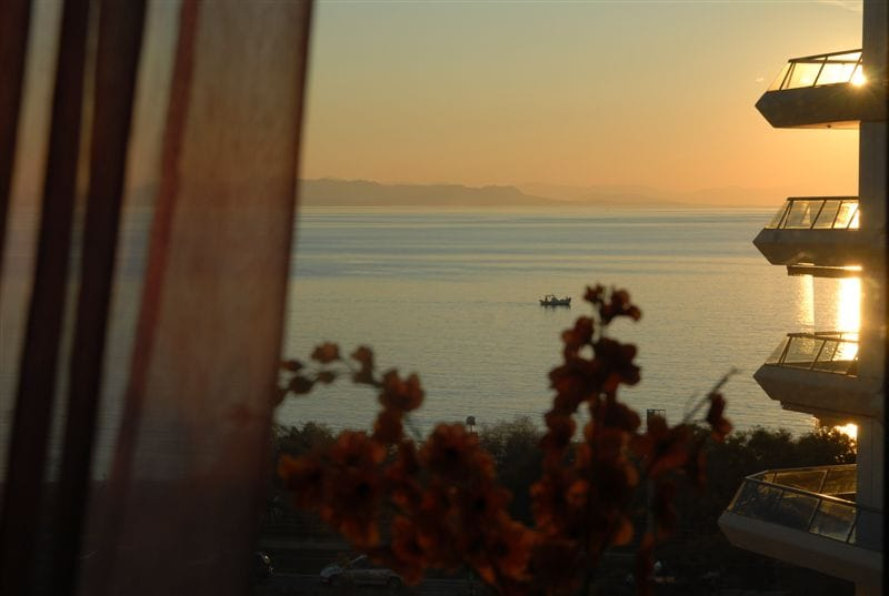 Sunset over the sea makes your vacation unforgettable!