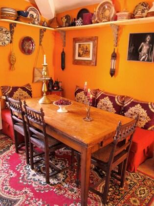 Cuisine ambiance Maroc pour prendre le petit déjeuner en hiver