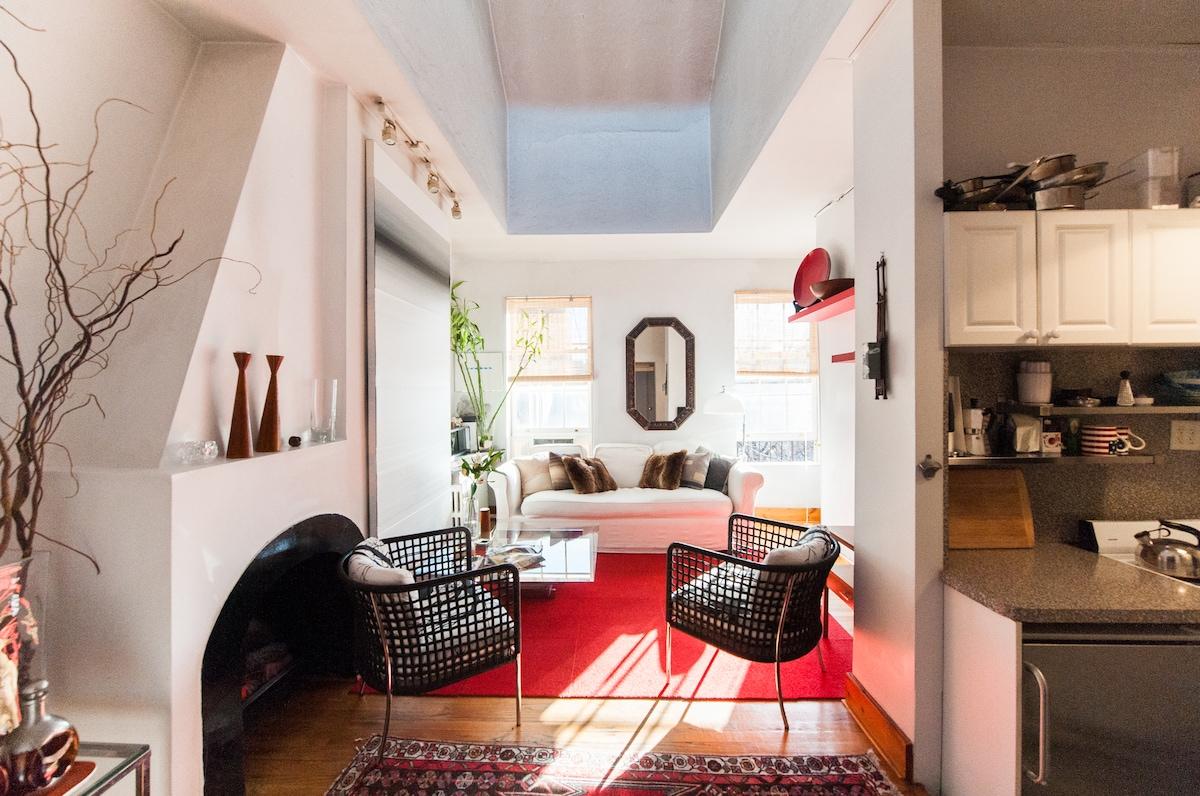 Sun Burst Living room