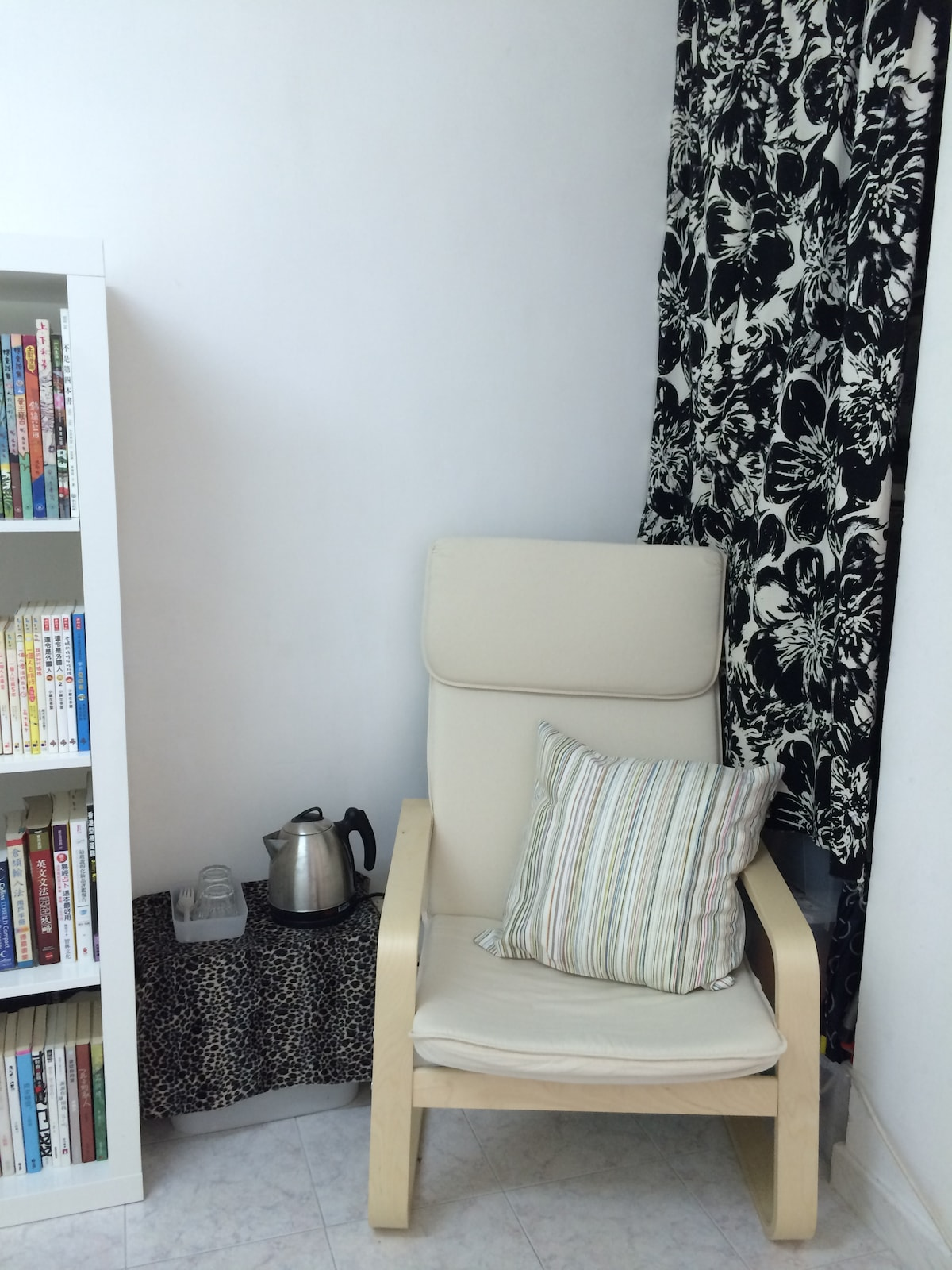 Chair and kettle
