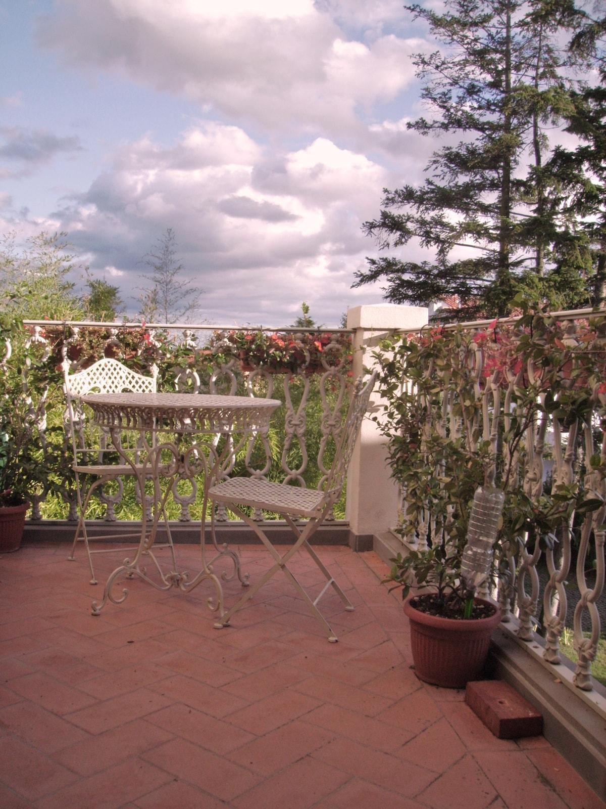 il terrazzino di Lidia