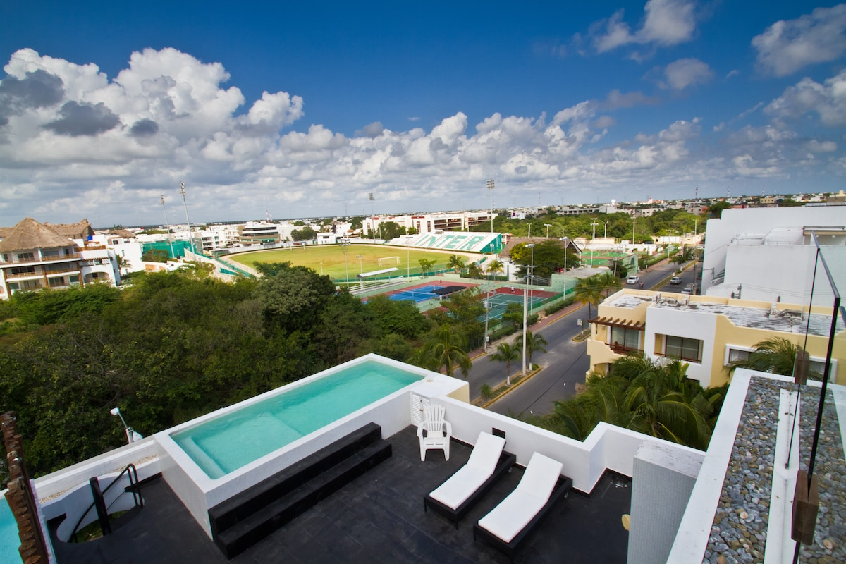 Playa del Carmen 2 bed/private pool