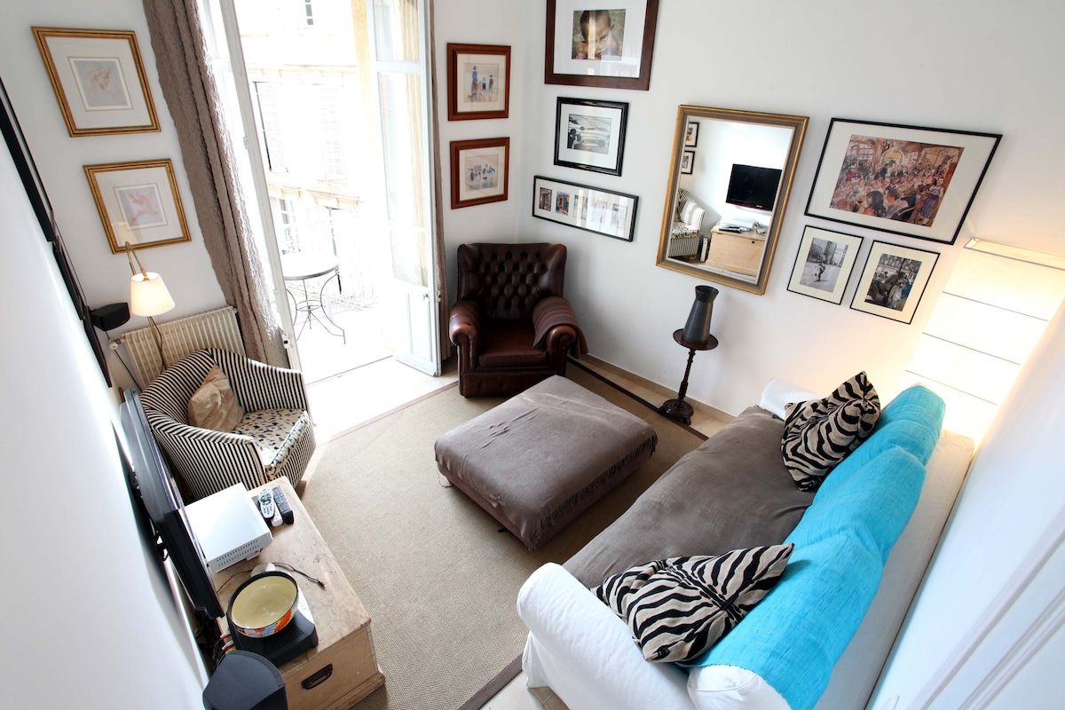 Chic Boutique Cannes apartment