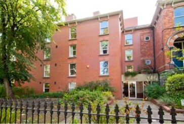 The front of the building, beautiful, spacious, modern 3 bedroom apartment in the heart of Ballsbridge