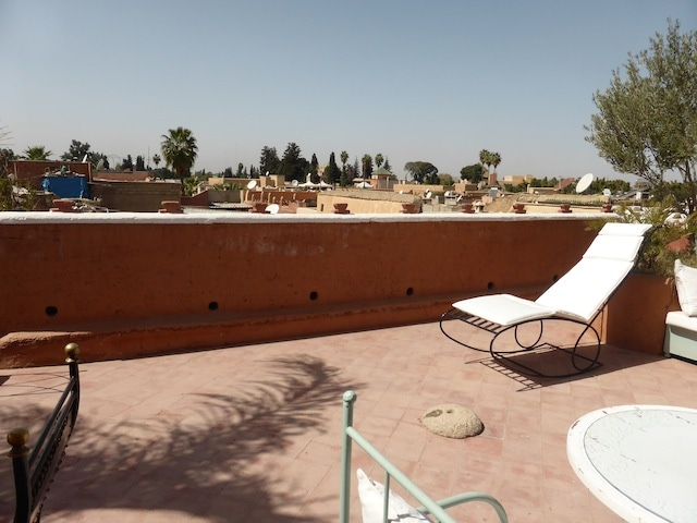 One of the best views of the medina in the Mouassine area, the most apreciate one...