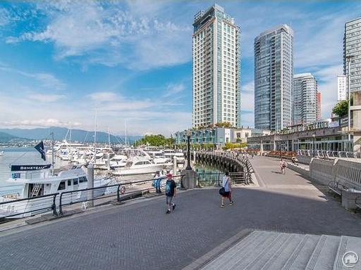 Highly sought-after luxury condominiums in Coal Harbour.