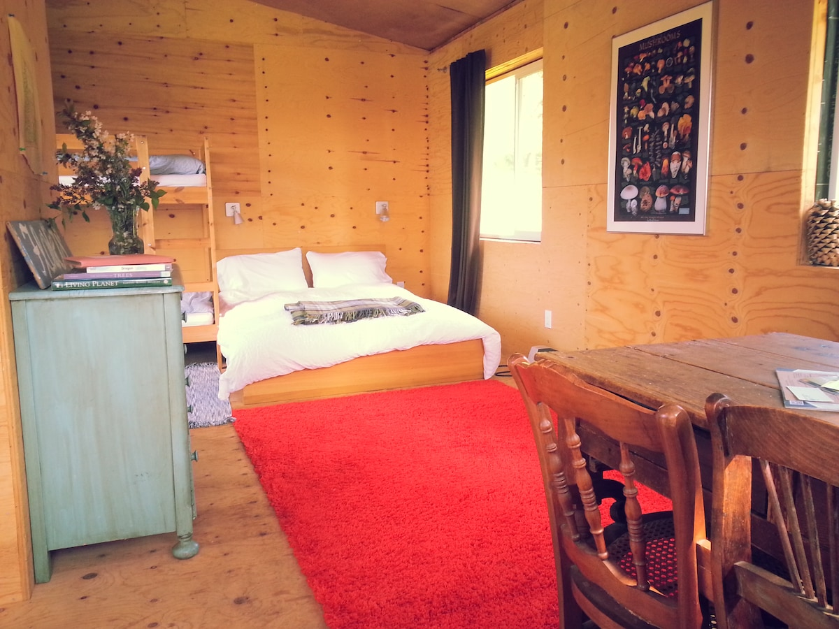 Private Wine Country Farm Bunkhouse
