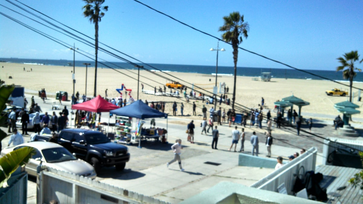 Ocean view from (website hidden) show NCIS LA filming a scene in front of our house April 2014.