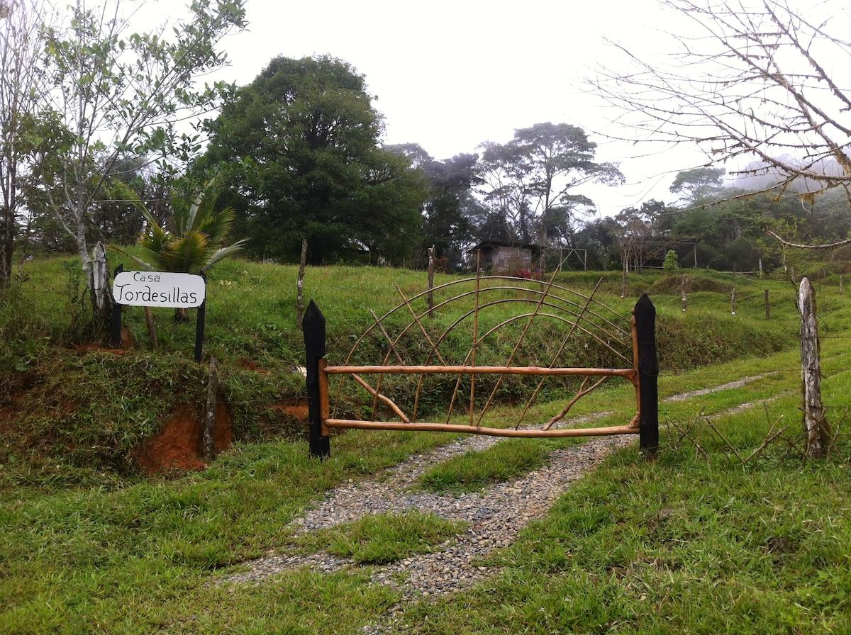 Entrance to the farm