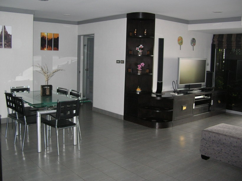 Dining area with slide out extentions Surround Sound video with DVD movie selection