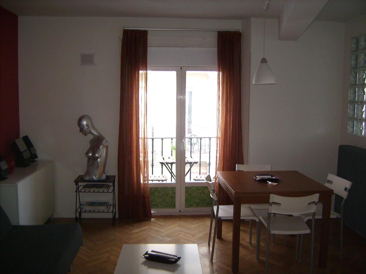 La luz, uno de los valores del apartamento.